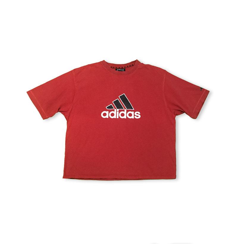 adidas rouge tee shirt